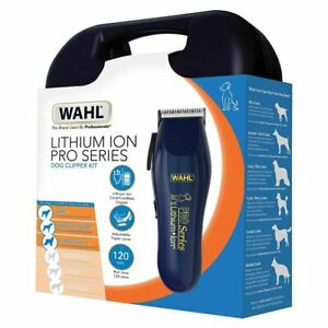 Wahl Pro Series 9766-800 Lithium Ion Dog Grooming / Clipper Kit