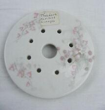 Vintage Johann Haviland China Bavaria Pink Garland Round Butter Dish Insert