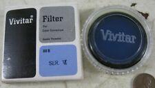 Vintage Lens Filter Vivitar Ser VI