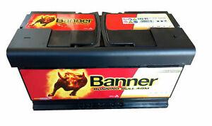 Banner Running Bull AGM 12V 92Ah 850A Autobatterie Start-Stop Caravan ≙100Ah