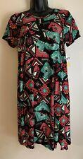 NEW Lularoe Carly Southwestern Aztec geometric tunic dress misses XXS NWT