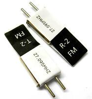 RC Radio Remote Control 27mhz 27 MHZ 27.095 FM Crystal Tx & Rx Pair CH 2
