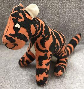 Vintage Anne Wilkinson Designs Winnie The Pooh Tigger Soft Toy Tiger c.1980s