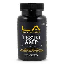 TESTO AMP Hardcore Bodybuilding Supplement Get Ripped Lose Fat Gain Muscle FAST!