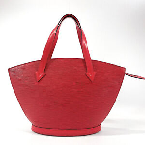 Authentic LOUIS VUITTON Shoulder Bag M52267 Sun jack Epi Leather Women