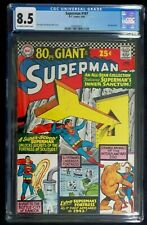 Superman #187 CGC 8.5, 80 page Giant June 1966