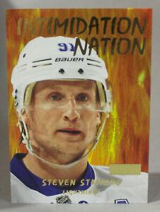 2012-13 Fleer Retro Intimidation Nation Insert Steven Stamkos #5IN Very Good