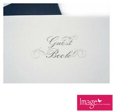 Guest Book Enclosed in Smart Box 96 Pages for Wedding Engagement Bridal Shower