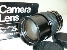 JCPenney 135mm f 2.8 LENS for MINOLTA MD mount film camera VGUC SN895185