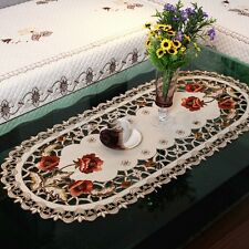Yazi Embroidered Tablecloth Cover Doily Pillowcase Table Cloth Runner Placemats 000644 1pc 40x85cm