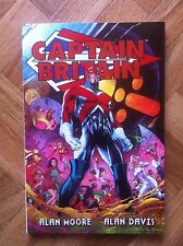 CAPTAIN BRITAIN MOORE/DAVIS SOFT COVER FIRST PRINTING NEAR MINT (F43)