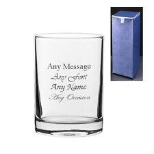 Personalised Engraved Hiball 6oz Whiskey Tumbler Glass Usher Best Man Wedding