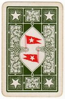 Playing Cards Single Card Old Antique WSL WHITE STAR LINE Shipping Advertising 1