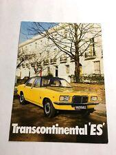 1973 Vauxhall GM Transcontinental ES Victor Original Sales Brochure Folder