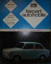 FIAT 850 / 850 SPECIAL REVUE TECHNIQUE EXPERT AUTOMOBILE n° 57 1970