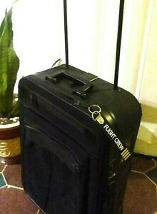 """Travelpro 20"""" Black Roller Luggage Authentic Flight Crew Issued BARELY USED!"""