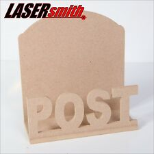 Post/mail/lettre rack holder made with 6mm mdf pour craft, decoupis etc