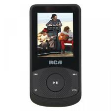 RCA M6504 4GB Video MP3 Player with FM Radio, Voice Recorder - Black