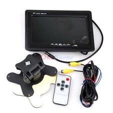 """Car 7"""" LCD Monitor with Power and RCA cables"""