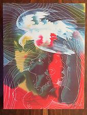 WFUNA,HANS ERNI (1909-2015) SIGNED  LITHOGRAPH #328 OR 330/1000 w/COA