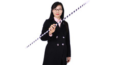 Appearing Cane (Plastic, BLACK & WHITE STRIPED) by JL Magic