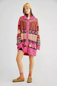Free People Smile Cardigan Size Small New Ex Sample