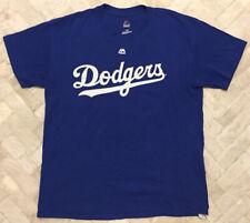 Authentic Majestic Clayton Keyshawn Los Angeles Dodgers MLB Jersey Style Shirt L