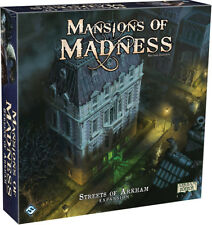 Mansions of Madness 2nd Edition Streets of Arkham Expansion Sealed Brand New