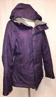 Burton Women's Sz 5 Dry Ride Winter Jacket Coat Ski Snowboard Purple Snow Skirt