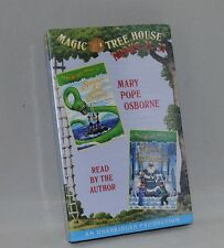 Magic Tree House 31 32 Summer of the Sea Serpent Winter  Ice Wizard Audio book