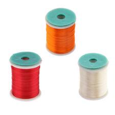 3 Spools Fly Tying Thread Flash Tinsel Thread DIY Fly Tying Materials 250m