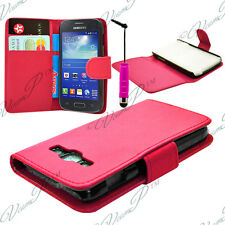 CASE COVER WALLET LEATHER SAMSUNG GALAXY CORE I8260/ I8262 DUAL SIM