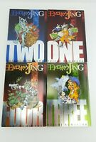 Jing King of Bandits Volume 1 2 3 4 Lot of 4 Manga Yuichi Kumakura Tokyopop