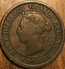 1888 CANADA LARGE CENT PENNY 1 CENT