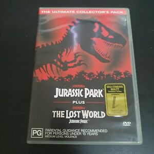 Jurassic Park / The Lost World (1993/97) [DVD], , Used; Good DVD