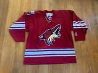 Phoenix Coyotes Vintage 90's KOHO Air-Knit Jersey Mens XL EUC Rare NHL