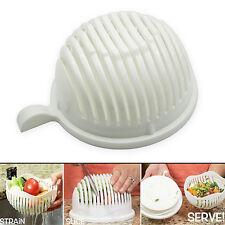 1 Minute Salad Maker Kitchen Fruit Vegetables Fast Cutter Bowl Creative Tool