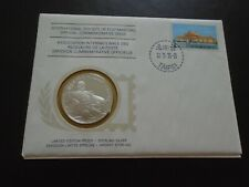 More details for int'l postmasters 1st day cover & silver medal honoring dr sun yat-sen taiwan