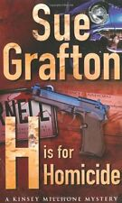 SUE GRAFTON ____ H IS FOR HOMICIDE _____ BRAND NEW ___ FREEPOST UK