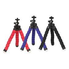 Mini Trípode Flexible Esponja Pulpo Soporte Agarre de Mano para Cámara de vídeo IPhone