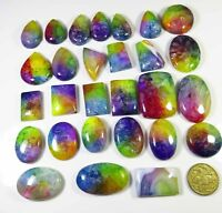SOLAR QUARTZ CABOCHON AAA+ NATURAL LOOSE GEMSTONE 250-5000 Cts. WHOLESALE LOT