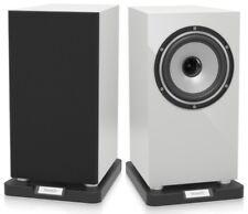 Tannoy Revolution XT 6 Speakers Compact Studio Bookshelf White Gloss - Pair