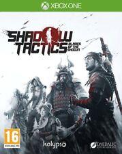 Shadow Tactics Blades Of The Shogun Xbox One * NEW SEALED PAL * ENG