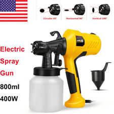 400W Handheld Spray Gun Electric Paint Sprayer Painter Painting Home Use 800ml