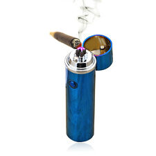 Electric Pipe Cigar USB Lighter Pulse Plasma Torch Dual Arc Windproof Lighter