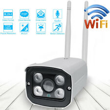 WIFI Wireless  IP Camera 1080P Outdoor Home Security Waterproof IR Night Vision