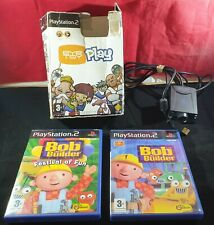 Boxed Eyetoy Camera with Bob the Builder & Festival of Fun Sony Playstation 2