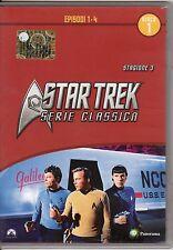 dvd STAR TREK - SERIE CLASSICA STAGIONE 3 EPISODI 1 - 4