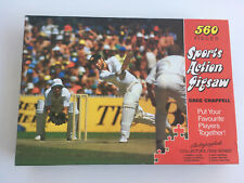 Vintage 70s Greg Chappell Sports Action Jigsaw World Series Cricket Test Match