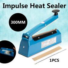 "12""  Impulse Heat Sealer Electric Plastic Poly Bag Hand Sealing Machine New"